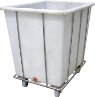 Transport cart for meat tub 190l