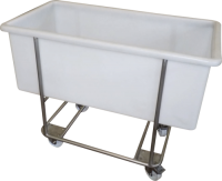 Transport cart for meat tub 270l