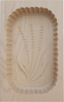 Butter mould wood 400g