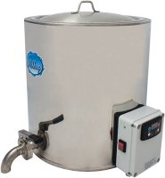 Milky Pasteurizer and milk heater FJ 50 E